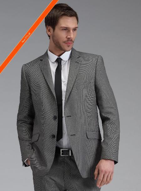 Grey Slim narrow Style