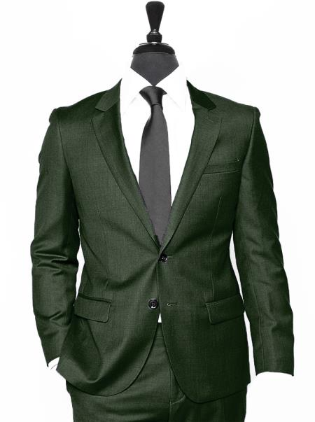 Product# JSM-4565 Coming 2018 Notch Lapel Alberto Nardoni Best Mens Italian Suits Brands Suit