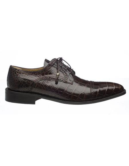 Ferrini Mens Alligator Skin