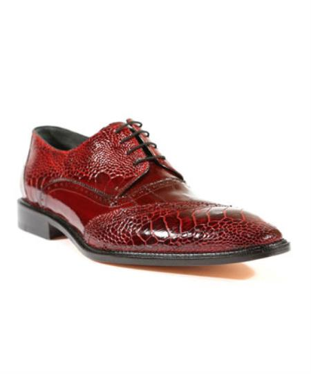 Mens Nino Antique Red