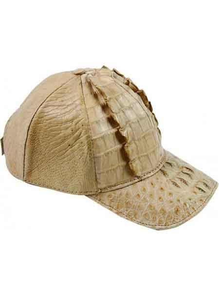 Genuine Beige Baseball Cap