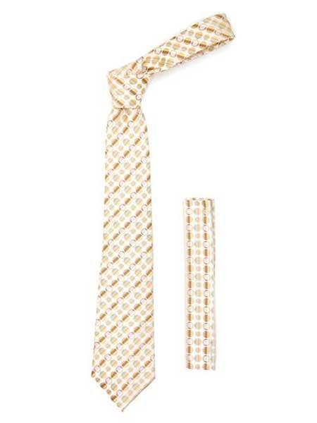 Polkadot Stripe Fashionable Necktie
