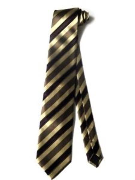 Tie Set Beige brown
