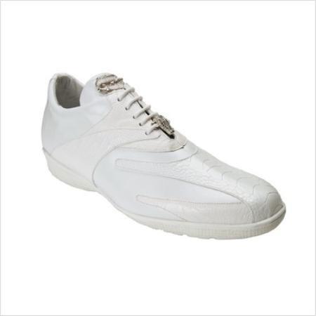 Belvedere attire brand Bene Sneaker in White