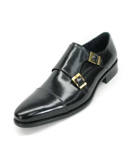 Mens Fashionable Carrucci Calfskin