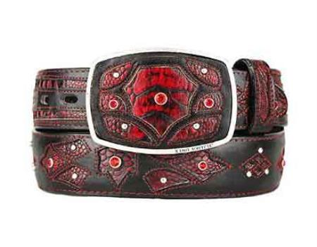 Fashion Western Belt BlackCherry