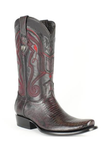 Mens Wild West Leather