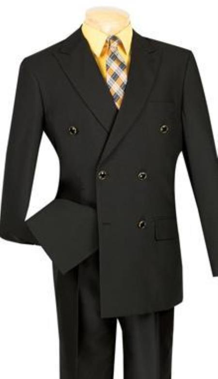 Double Breasted Blazer Online Sale With Best Cut & Fabric Sport jacket Coat Liquid Jet Black