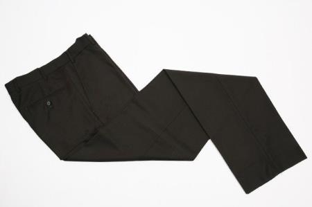 Men's Flat-Front Dress Pants