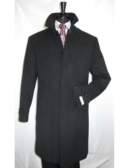 Mens Black Full Length