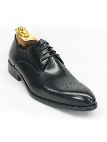 Mens Fashionable Carrucci Black