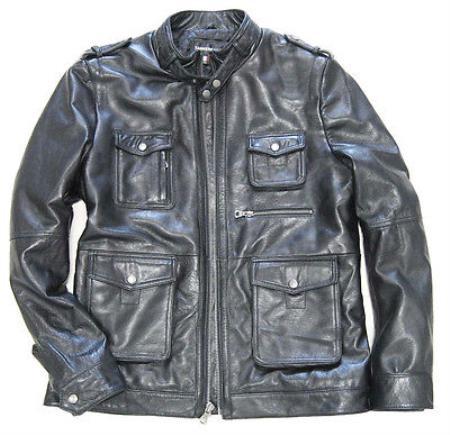 Field Inspired Lambskin Leather