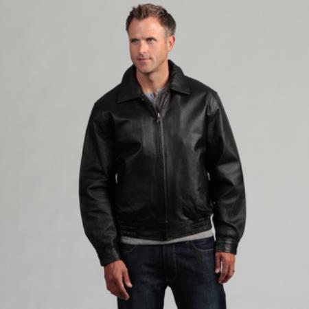 Pig Napa Leather Bomber