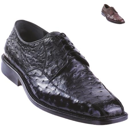Exotic Ostrich Oxford Shoe