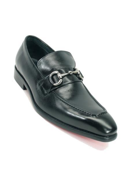 Mens Carrucci Black Fashionable