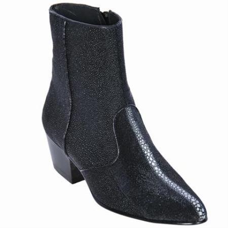 Stingray skin Ankle Boot