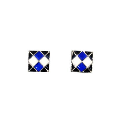 Ferrecci Black/White/Blue Favor Cuff