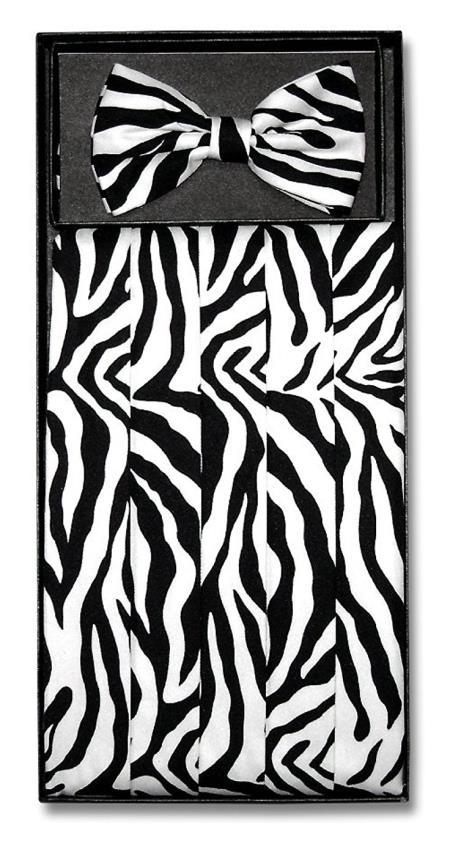 Mens Zebra Skin Design