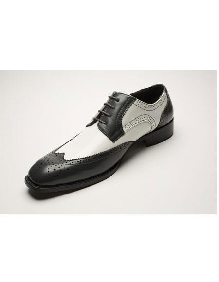 Mens Two Toned Lace