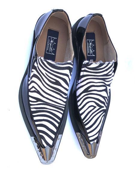Mens Stylish Leopard Slip