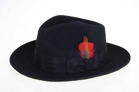 Wool Fabric Felt Fedora