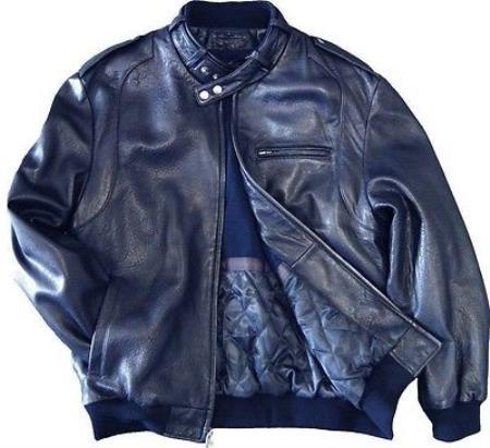 Leather Bomber Jacket Soft