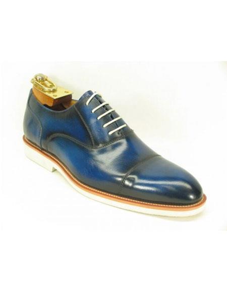 Mens Fashionable Carrucci Blue