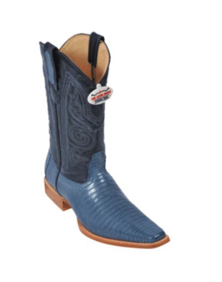 Blue Jean Teju Cowboy
