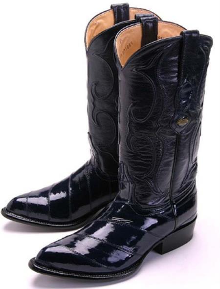 Eel Classy Leather Blue