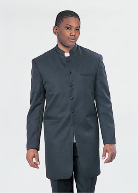 Boys Church Suit Black
