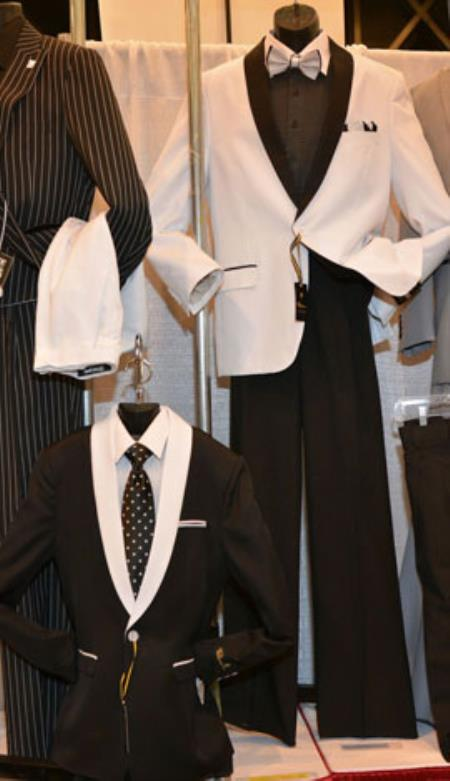 Product# RM1400 Kids Boys Kids Sizes Childress Dress Boys And Men Suit For Teenagers for Online Black/White