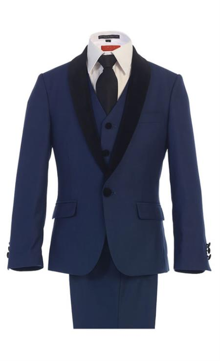 Kids Boys Kids Sizes Royal Boys And Men Suit For Teenagers With Dress Shirt