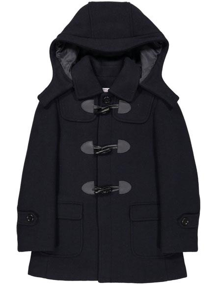 Product# JSM-6659 Boys ~ Children ~ Kids Toddler Navy Outerwear Coat