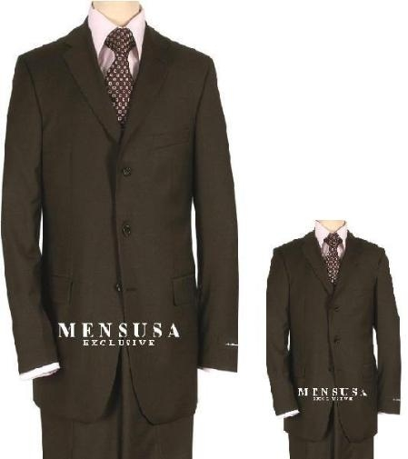Boy 2 or 3 Buttons Style Wool Fabric Suit For Teenagers