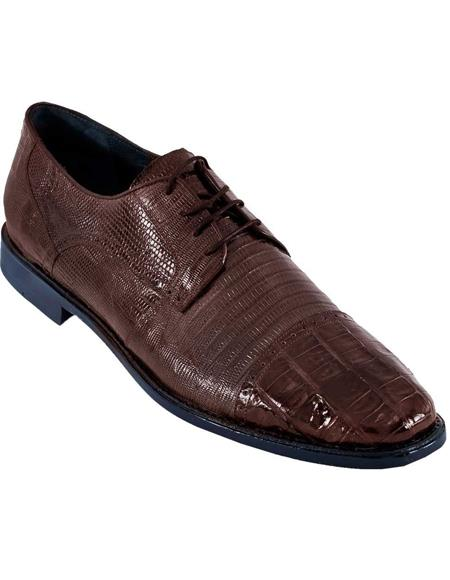 BROWN Genuine Caiman Crocodile