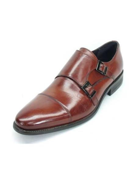 Mens Fashionable Carrucci Brown