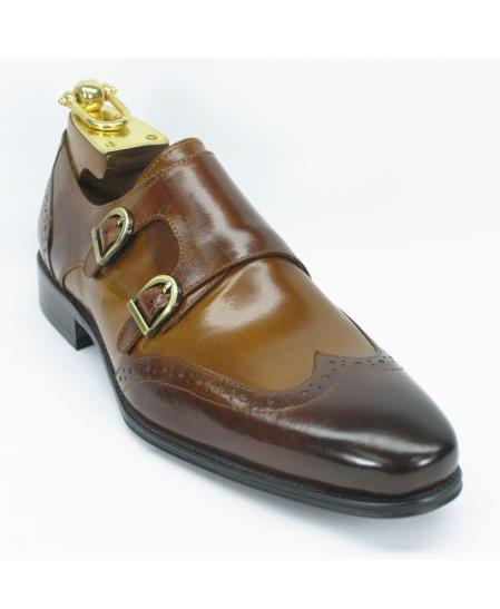 Mens Carrucci Brown/Cognac Fashion