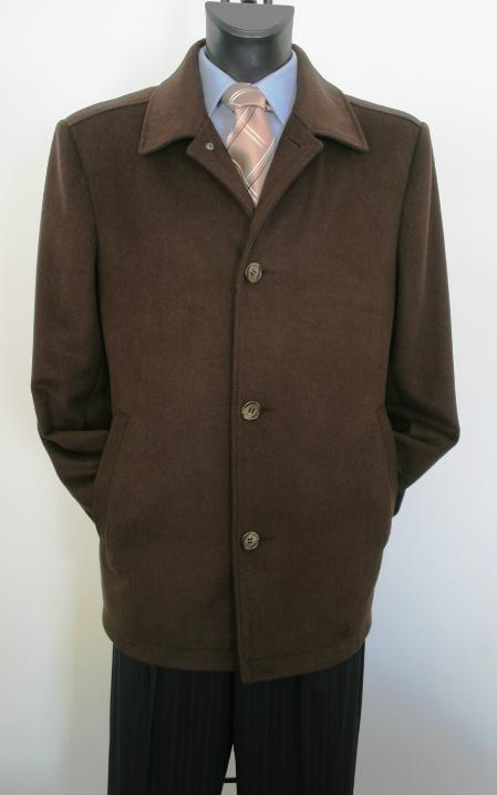 Product# BW2135 Car Coat Style brown color shade