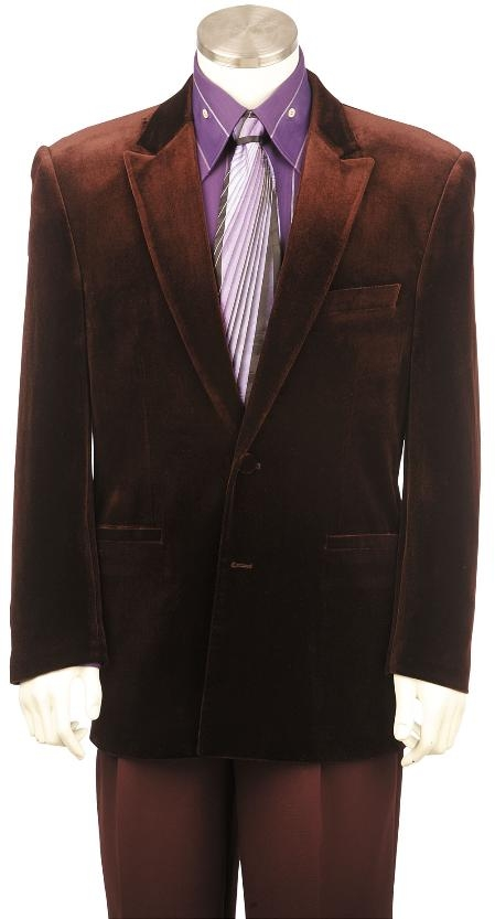 US631V Mens Brick Red 3 Piece Stretch Fabric