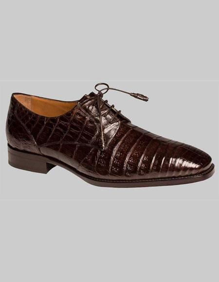 Mens Mezlan Brown Sleek