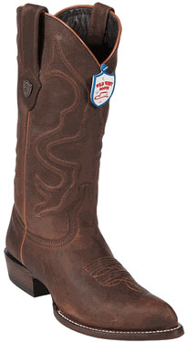 Wild West Walnut J-Toe