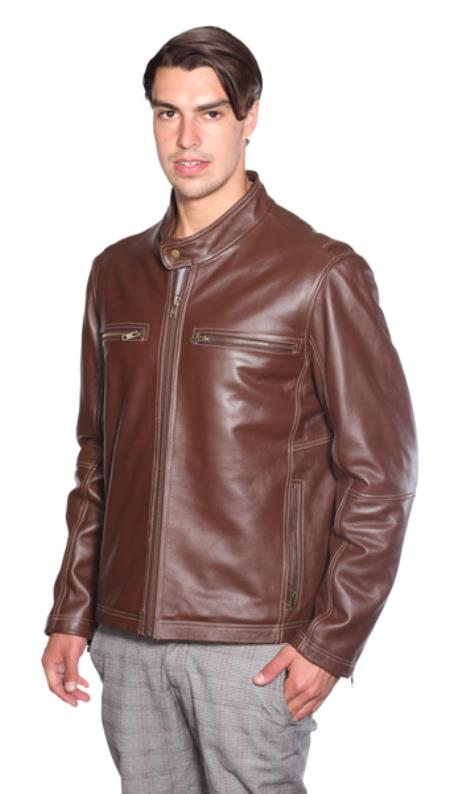 Lance Moto Leather Jacket