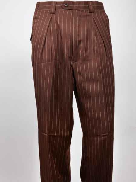 Men's Wide Leg Pleated