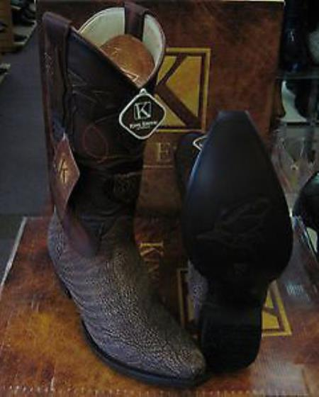 King Exotic Boots brown