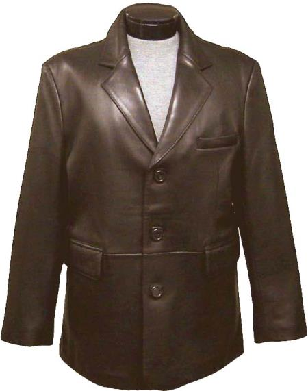 classic 3 Buttons Style Blazer Online Sale (brown color shade split) tanners avenue jacket Available in Big and Tall Sizes