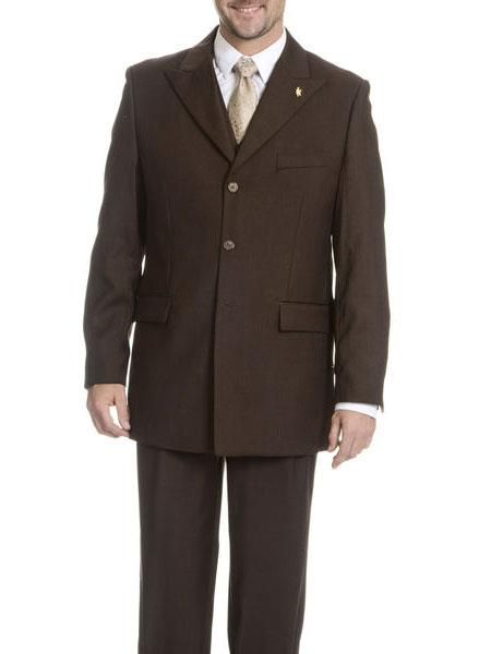 Falcone Brand Vested Suit