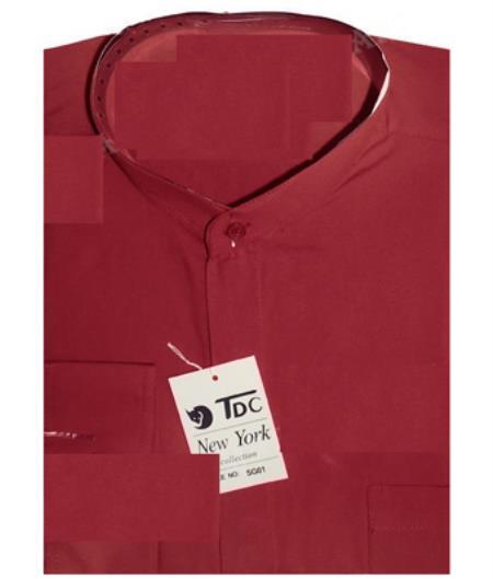 TDC Banded Collar Shirt
