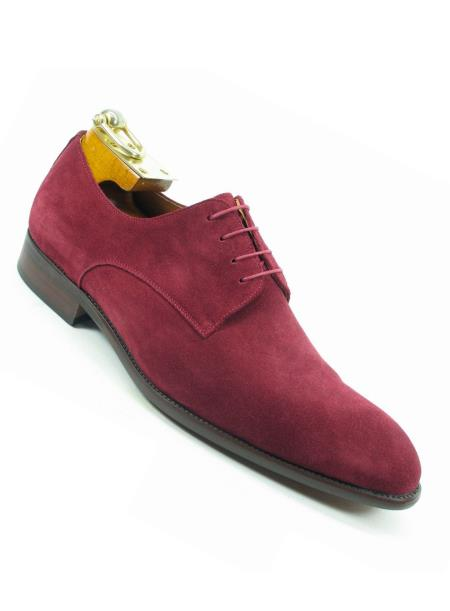 Mens Laceup Style Suede