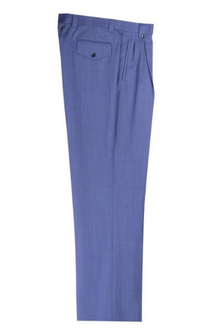 Mens 150s Wool Blue