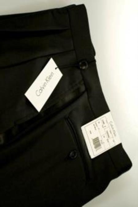Product# QY46L Jaber Designer Online Sale Wool Fabric Slim Fitted Liquid Jet Black Tuxedo Pants